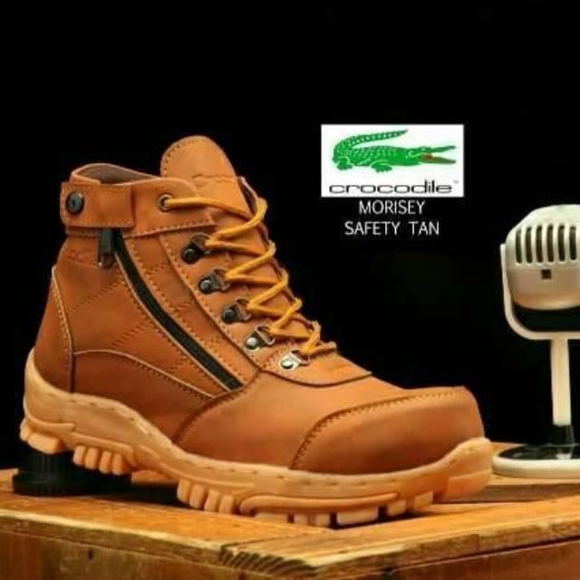 Sepatu safety boots hummer original gunung treking motor sepatu pria boots  murah free ongkir diskon  60ae4d3fc1