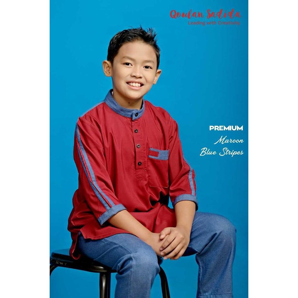 Kurta Anak Premium Series II by Qoulan Sadida