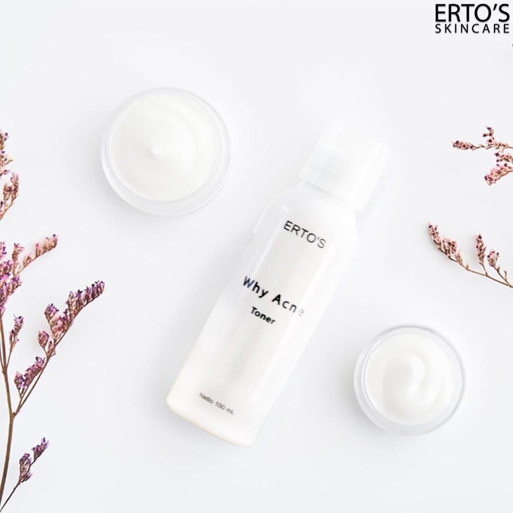Ertos Facial Refreshner Brightening Toner Muka Shopee Original Erto 100 Ml Bpom Skincare Kf 89 Indonesia