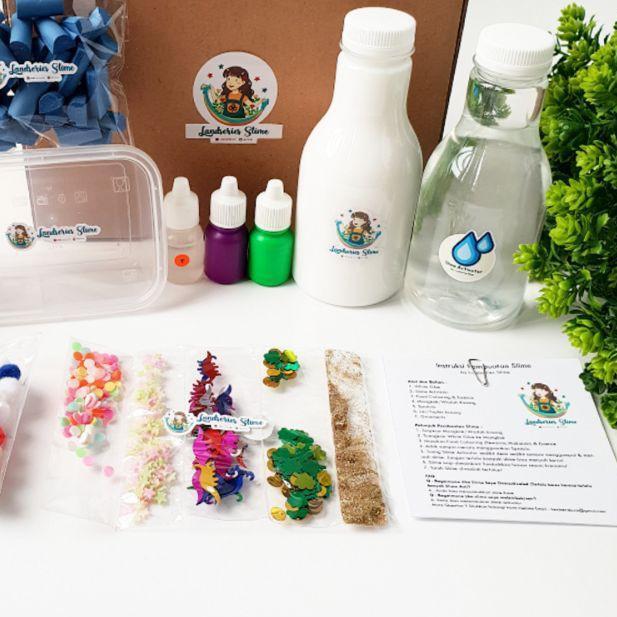⅍ DIY Mini Slime Kit by Landseries Slime | Bahan Slime ♟