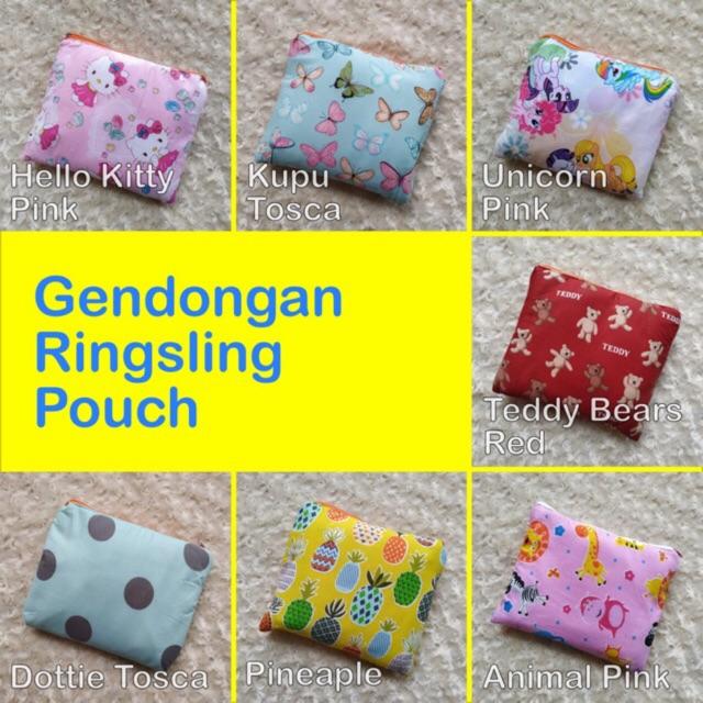 Part 2 Gendongan baby al ring sling anti pegal motif kombinasi | Shopee Indonesia
