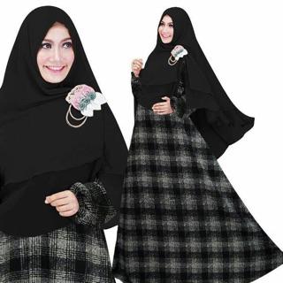 Agen Baju Official Shop Janiyah Maroon Shopee Indonesia