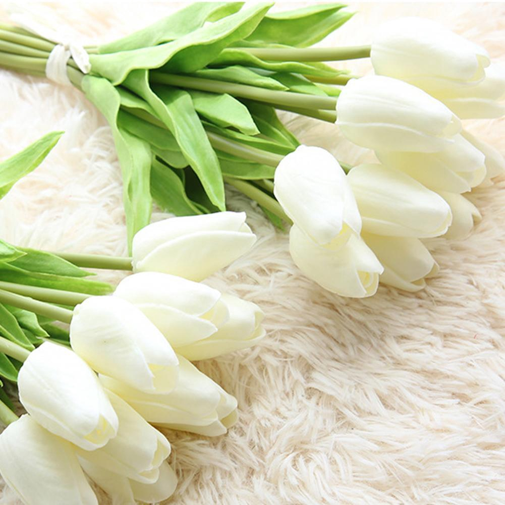 Mini Tulip Artificial Tulip Flower H7e6 Shopee Indonesia