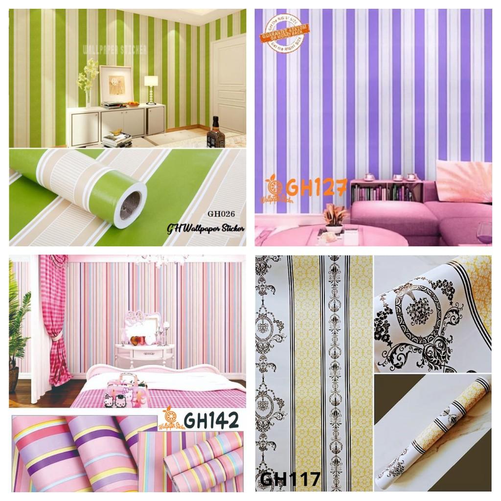 [COD] Wallpaper Stiker Stiker Dinding Wallpaper Wallpaper Sticker Wallpaper Dinding