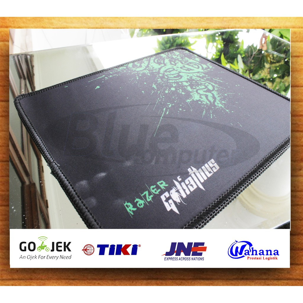 Mouse Pad Razer Shopee Indonesia Mousepad Small Jahit Pinggir Packing Dus