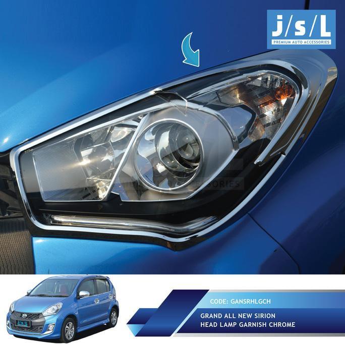 Mitsubishi Xpander Garnis Depan JSL / Head Lamp Garnish Chrome Termurah Aut | Shopee Indonesia