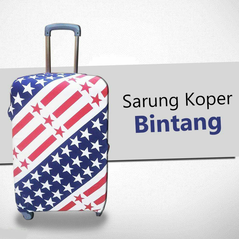 First Project Travel Luggage Cover Sarung Pelindung Koper Kain Ito 22 Polos Elastis Ukuran M 24 Inch Shopee Indonesia