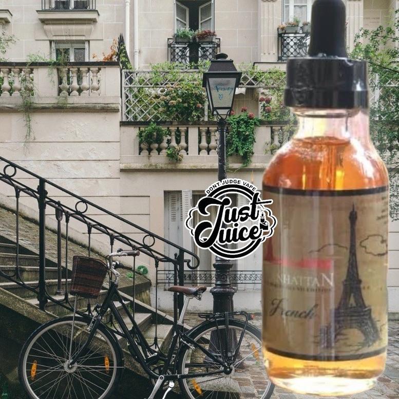 Manhattan French 6mg 9mg 12mg - Vanilla Rum Raisin E Liquid Freebase (ART. 4)
