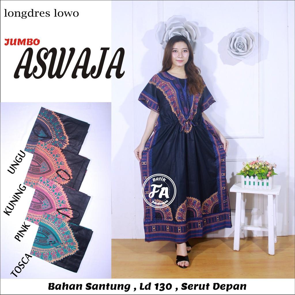 Longdres Lowo Jumbo - Motif Cindai - Leher O - Bumil - (Longdres Lowo  Aswaja) - Batik FA  e802ee4e2d