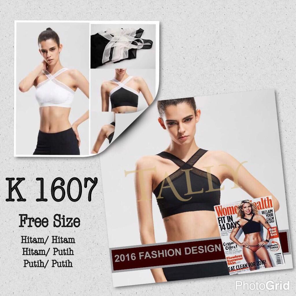 Bra Sport Olahraga Bh Scelta Underwear Katun 100 Murah Tank Top Bralette Camisol Renda Silang Sorex 8809 Berkualitas Sc 4046 Shopee Indonesia