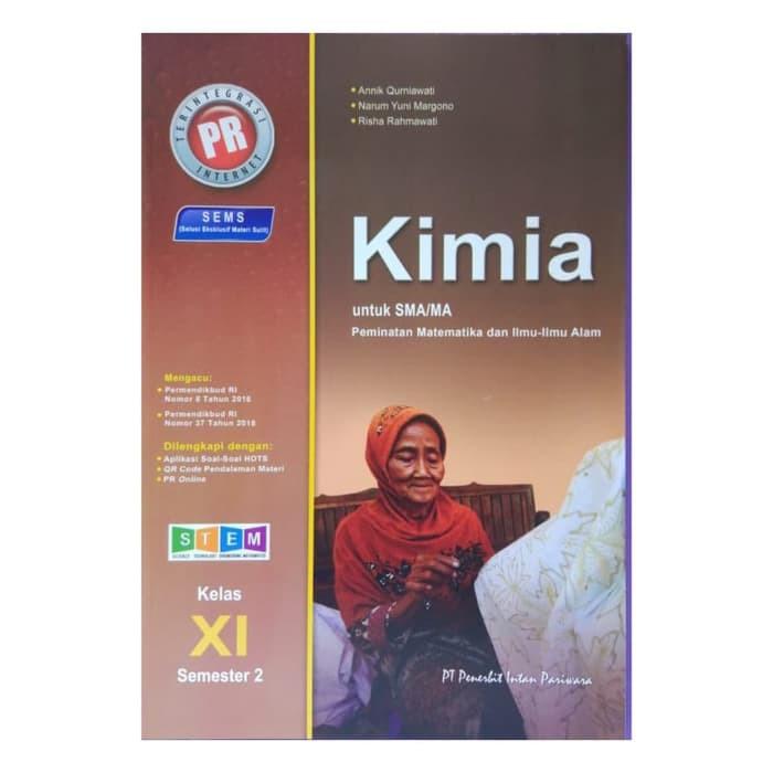 Nn Buku Pr Kimia 11 Sma Semester 2 Terbaru Intan Pariwara Shopee Indonesia