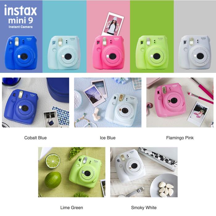 Fuji Imaging Camera Instax mini9 5 Jenis Warna