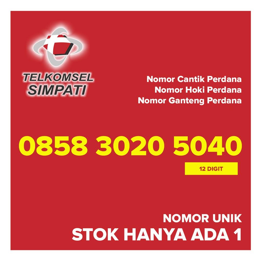 Kartu Perdana SIMPATI Nomor Cantik Hoki Ganteng 082162313355 | Shopee Indonesia