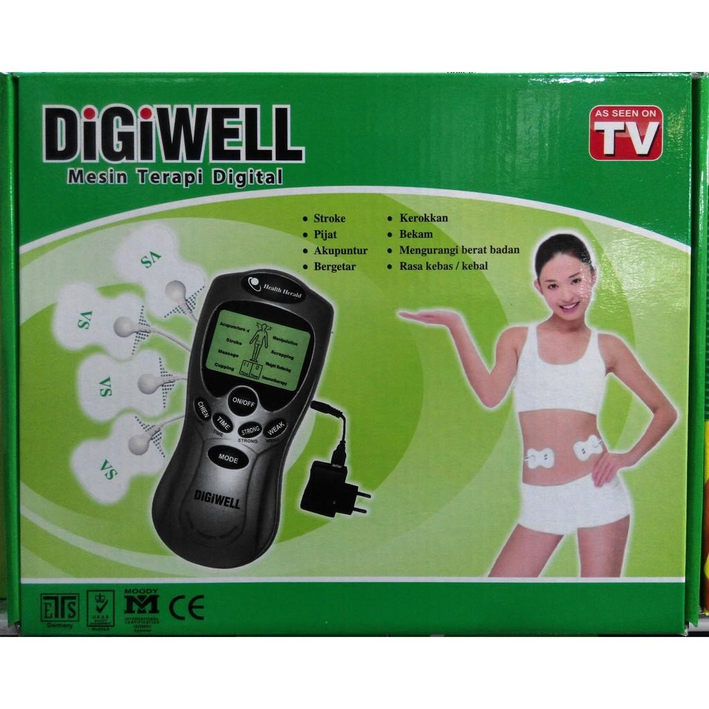 Lvling Alat Terapi Digiwell Harga Terkini Dan Terlengkap Gel Pad Tempel Elektroda Healthy Koyo Untuk Reiki Sunmas Prince Digital Massager Source Therapy Mesin Akupuntur Kesehatan