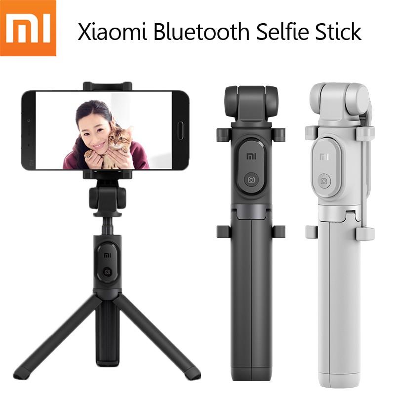 Xiaomi Selfie Stick / Tongsis Bluetooth Shutter Tripod Holder | Shopee Indonesia