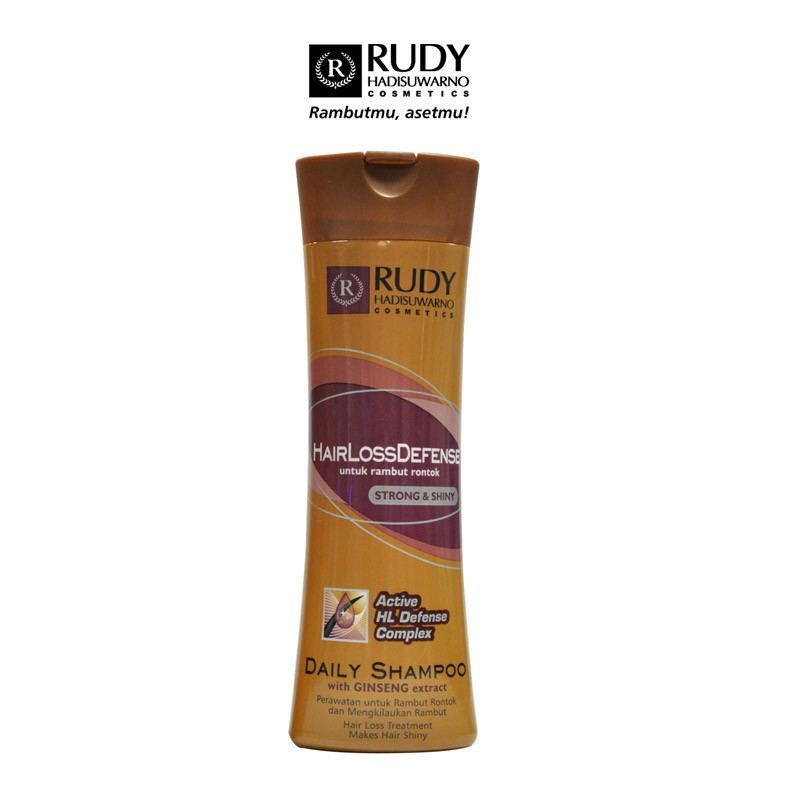 Rudy Hadisuwarno Cosmetics HairlossDefense Shampoo Ginseng 200 ml
