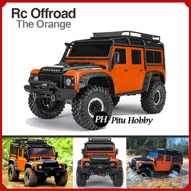 4X4 Off Road >> Rc Offroad 4x4 Adventure Anti Air The Orange Mobil Remote Control Jeep 4wd Waterproof 7hobby