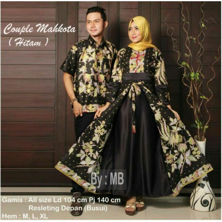 Batik Couple Gamis Dillan Makhota Termurah / Dilan Casandra 730 couple 035 | Shopee Indonesia