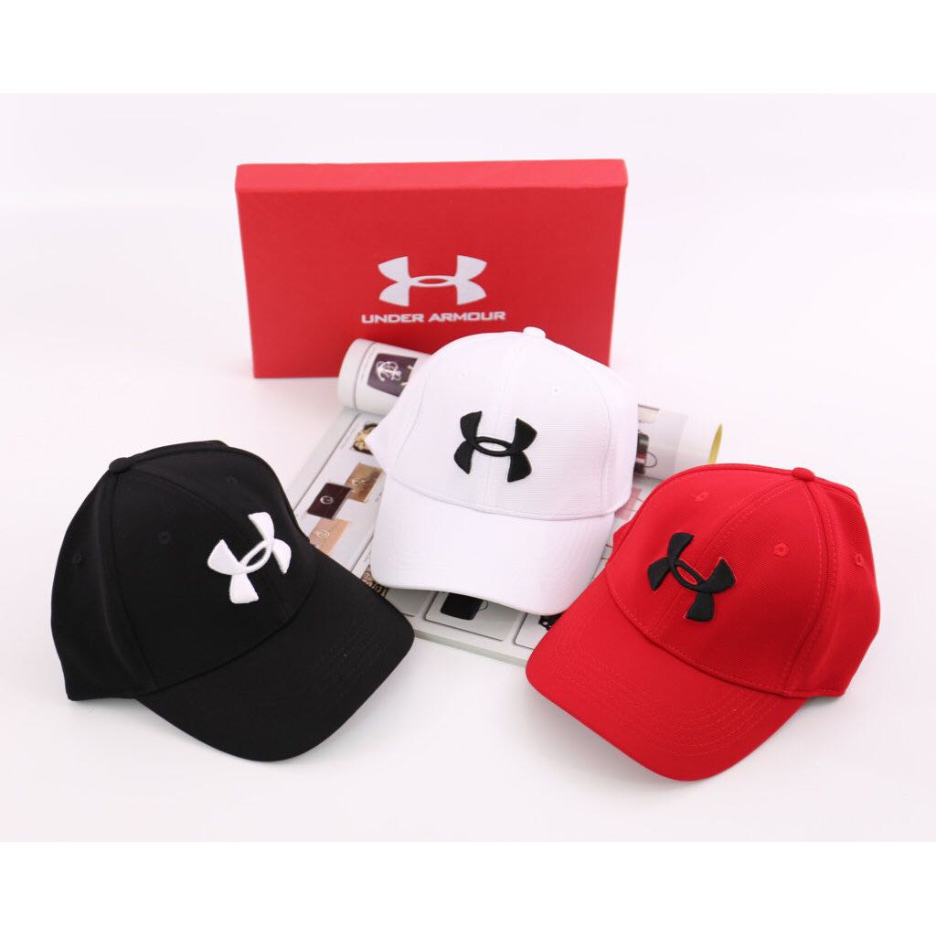 TOPI BRANDED IMPORT MURAH - Topi Under Armour Baseball Canvas Double  Semprem 2018  9ac41c1aae