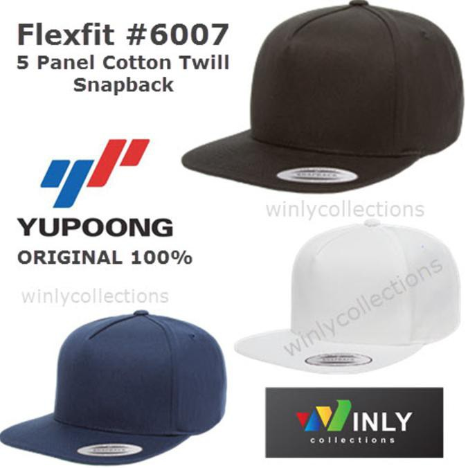 Harga Spesial 6245Cm Low Profile Cotton Twill Dad Hat Topi Flexfit Yupoong   Original Murah  b6e294bfb7e2