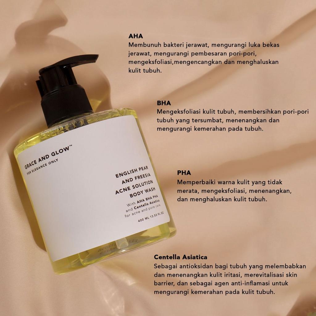 GRACE & GLOW BODY WASH AND SHAMPOO - Jaminan Ori 100%-2