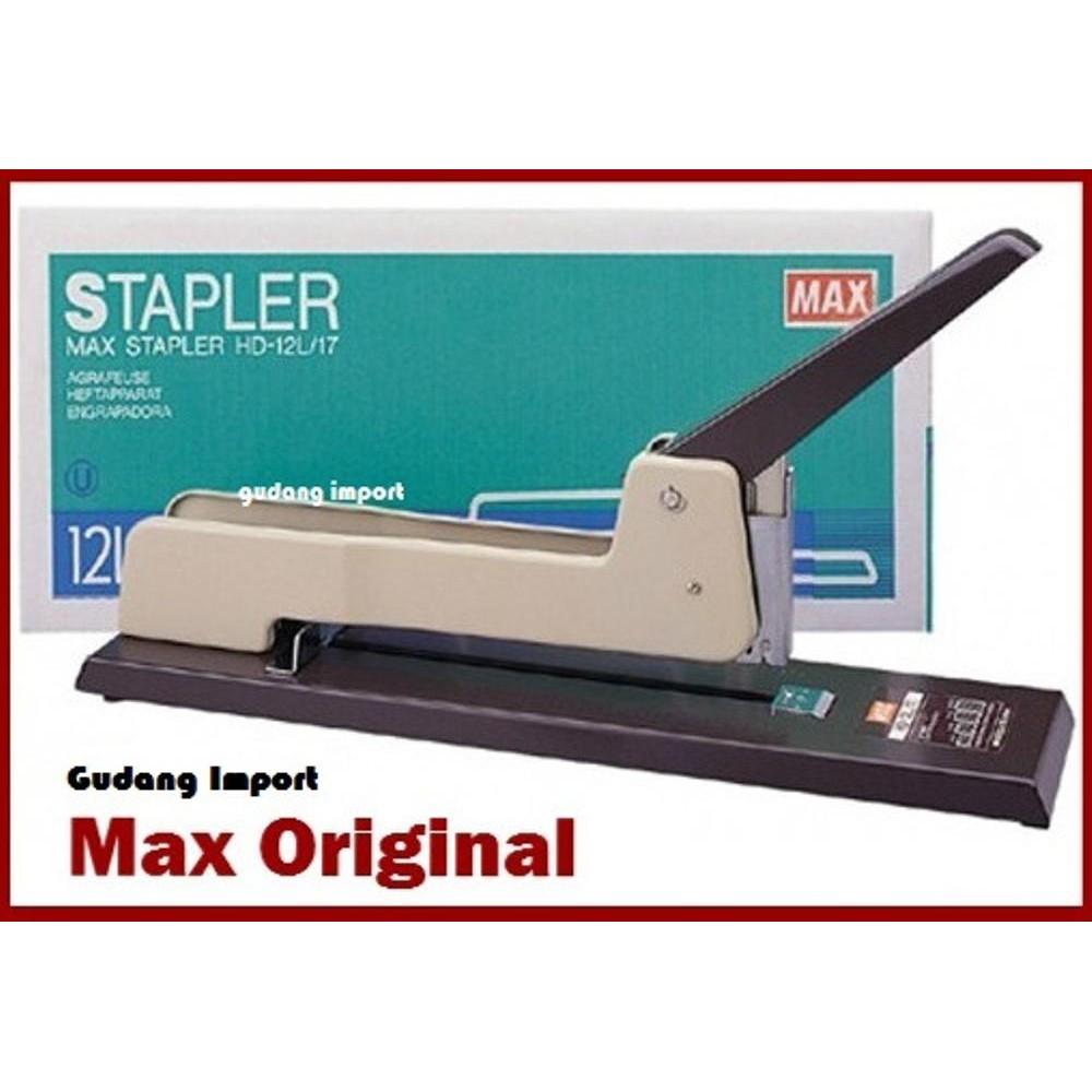 Original Stapler Max Hd 12l 17 Alat Staples Jilid Besa Limited Deli 240f Scientific Calculator 10 2 Digits E1710 Kalkulator Sains Shopee Indonesia