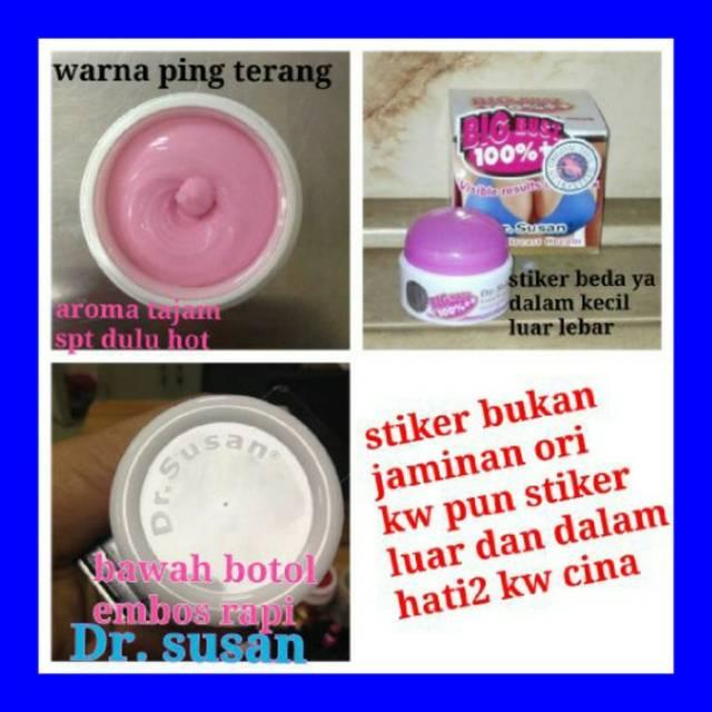 dr susan cream pembesar payudara alami mengencangkan payudara kendor | Shopee Indonesia