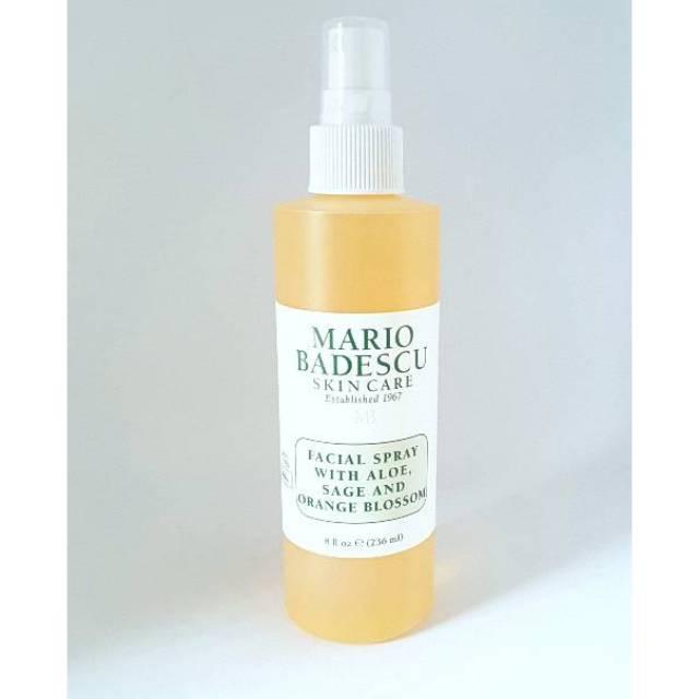 Mario Badescu Facial Spray With Aloe Sage And Orange Blossom 8oz