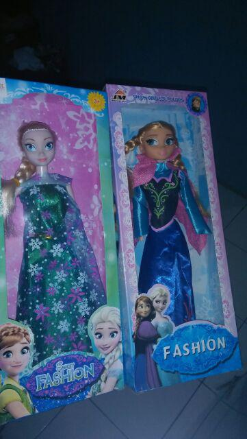 Mainan Boneka Disney Frozen New Princess Elsa   Anna (1 Set ... 2d698069b6