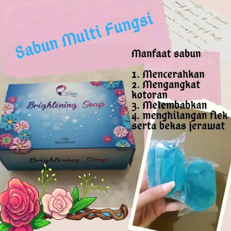 Sabun Kedas Beauty Brightening Soap Shopee Indonesia
