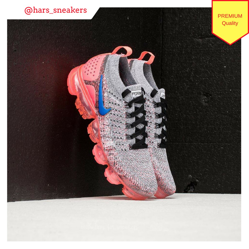 Sepatu Nike Air Vapormax 2.0 Flyknit Hot Punch Premium Quality