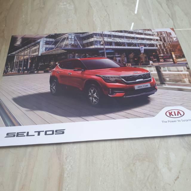 Brosur Mobil Kia Seltos 2019 Leaflet Shopee Indonesia