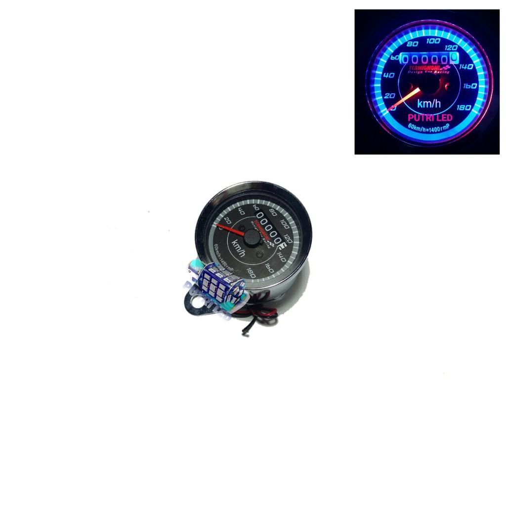 Speedometer Jarum Shopee Indonesia Manual Fuel Meter
