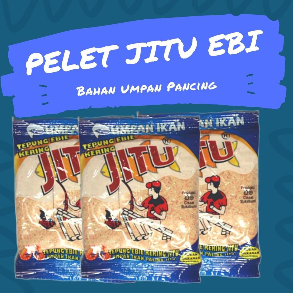 Umpan Pancing Pelet Jitu Ebi Bahan Campuran Umpan Ikan Original Berkualitas Harga Pack 10bks Shopee Indonesia