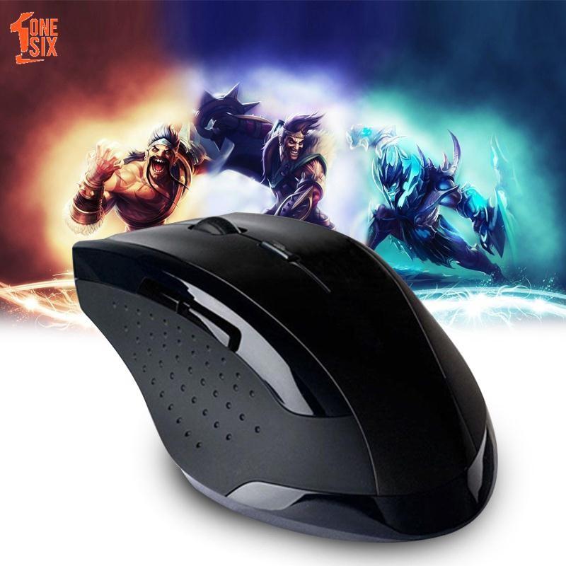 Mouse Wireless Slim+Penerima USB 2.4GHz Warna Putih/Hitam/Pink/Hijau/Biru/Merah untuk Laptop/PC | Shopee Indonesia