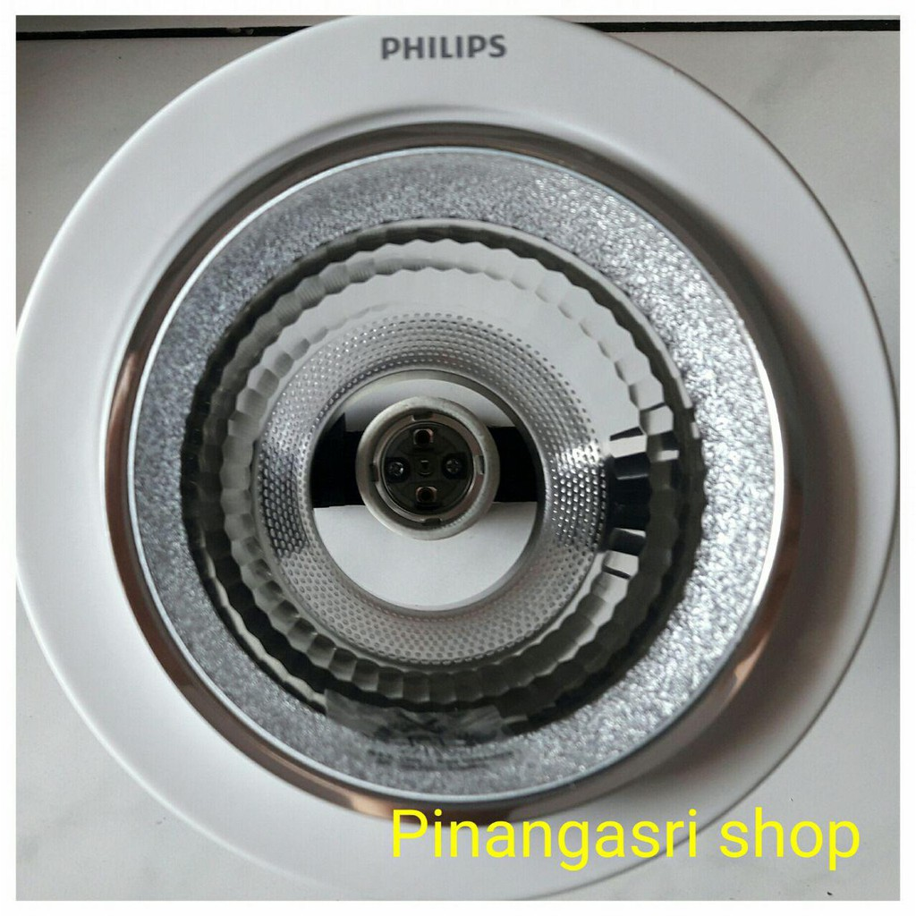 Downlight Philips 4 4inch White 4 Putih 66664 Recessed Light Rumah Lampu 4 Shopee Indonesia