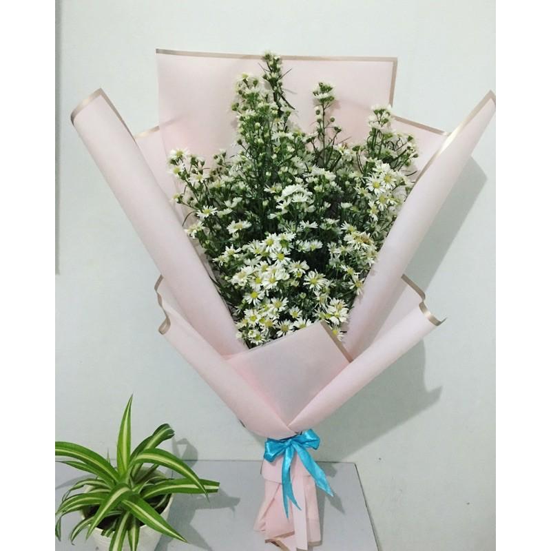 Buket bunga wisuda /buket bunga bogor /gift wisuda / buket bunga asli