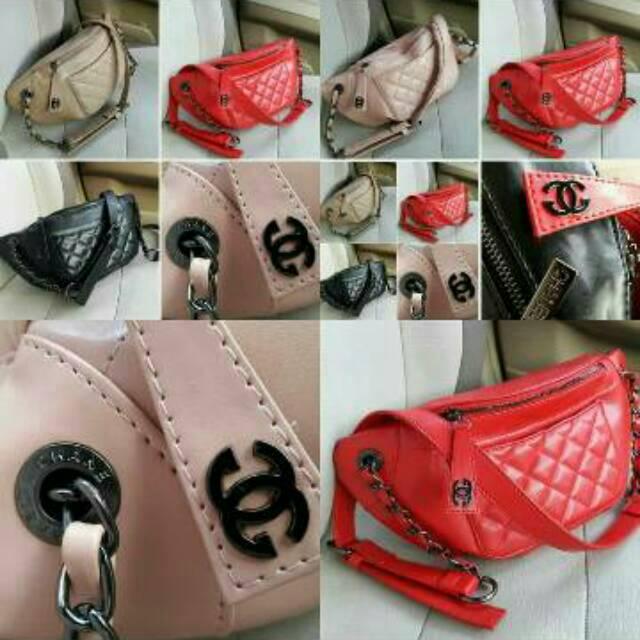 b34fc4b349e7 CHANEL BAG hitam | Shopee Indonesia