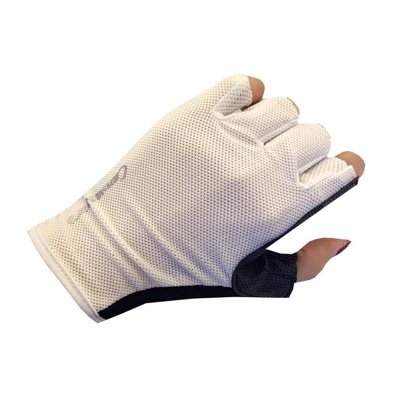 Fashion Half Finger Shock-resist Men Cycling Gloves Biking Durable Gauntlet