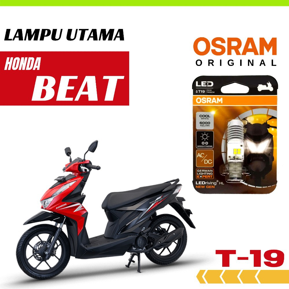 Lampu LED Motor Honda Beat 2012 - 2018