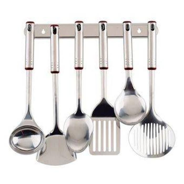 Spatula Stainless merek Oxone satu set lengkap alat masak ...