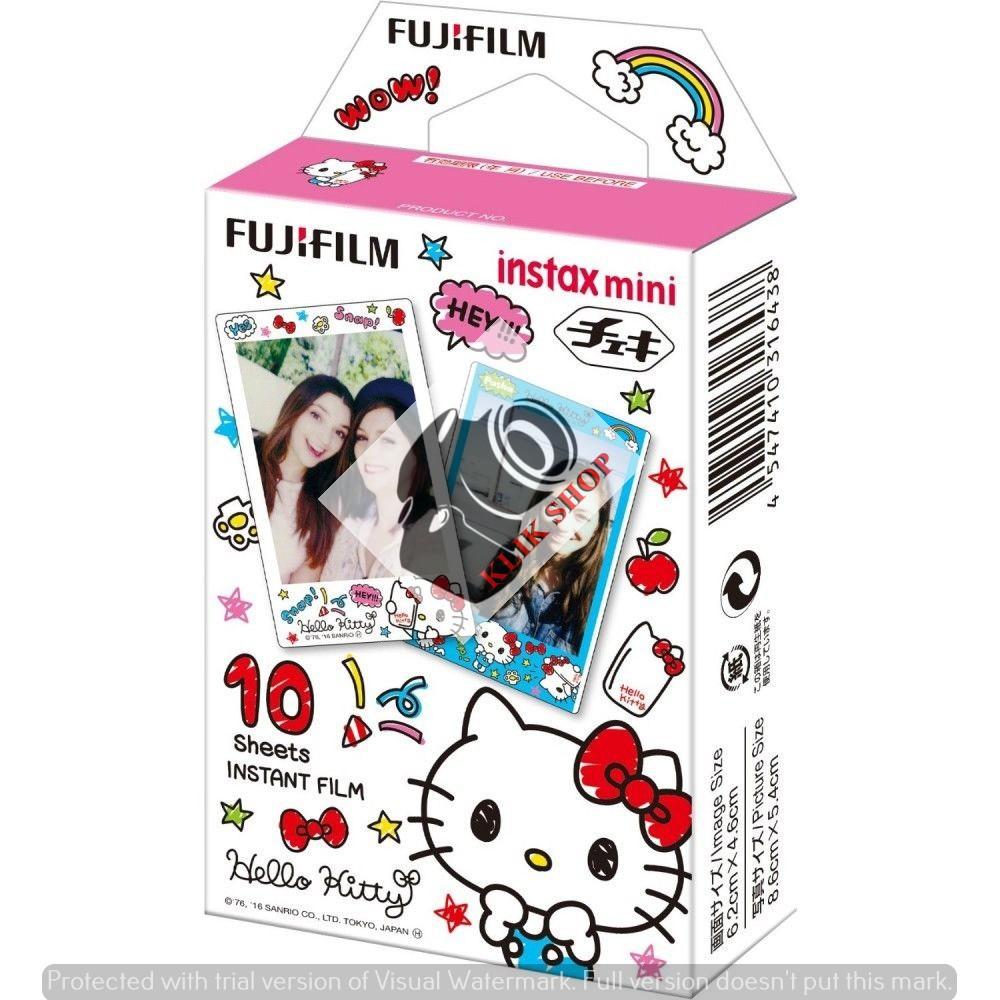 Fujifilm Refill Polaroid Instax Mini Film Twinpack Plain 1 Box Isi Wide 20 Lembar Shopee Indonesia