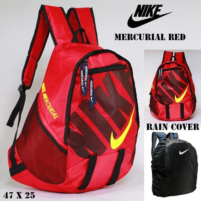PROMO tas travel nike just do it merah putih  63ed106b52