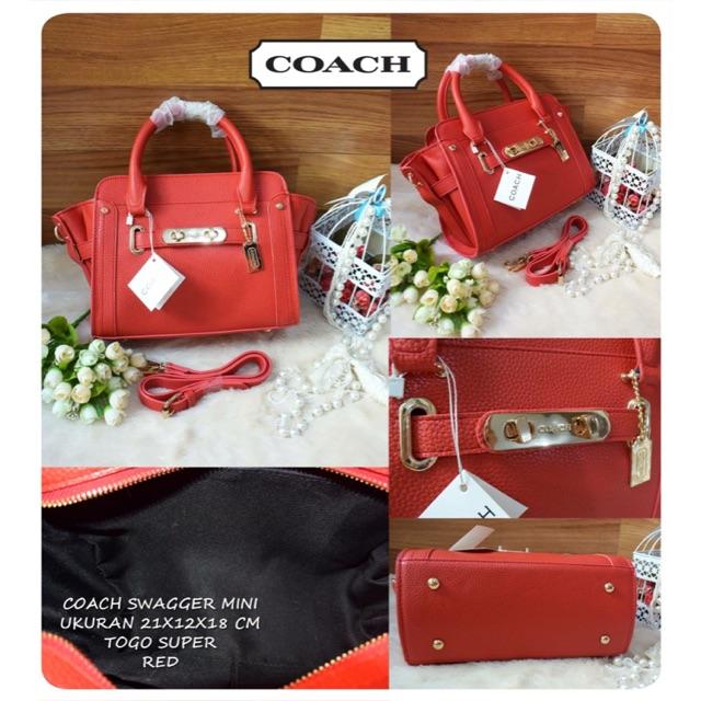 COACH SWAGGER ORIGINAL Leather Ori  7f02306175
