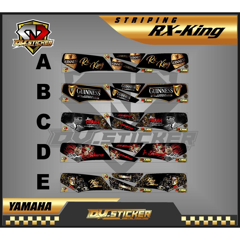Striping Rx King  - Stiker Variasi List Motor Rx KING