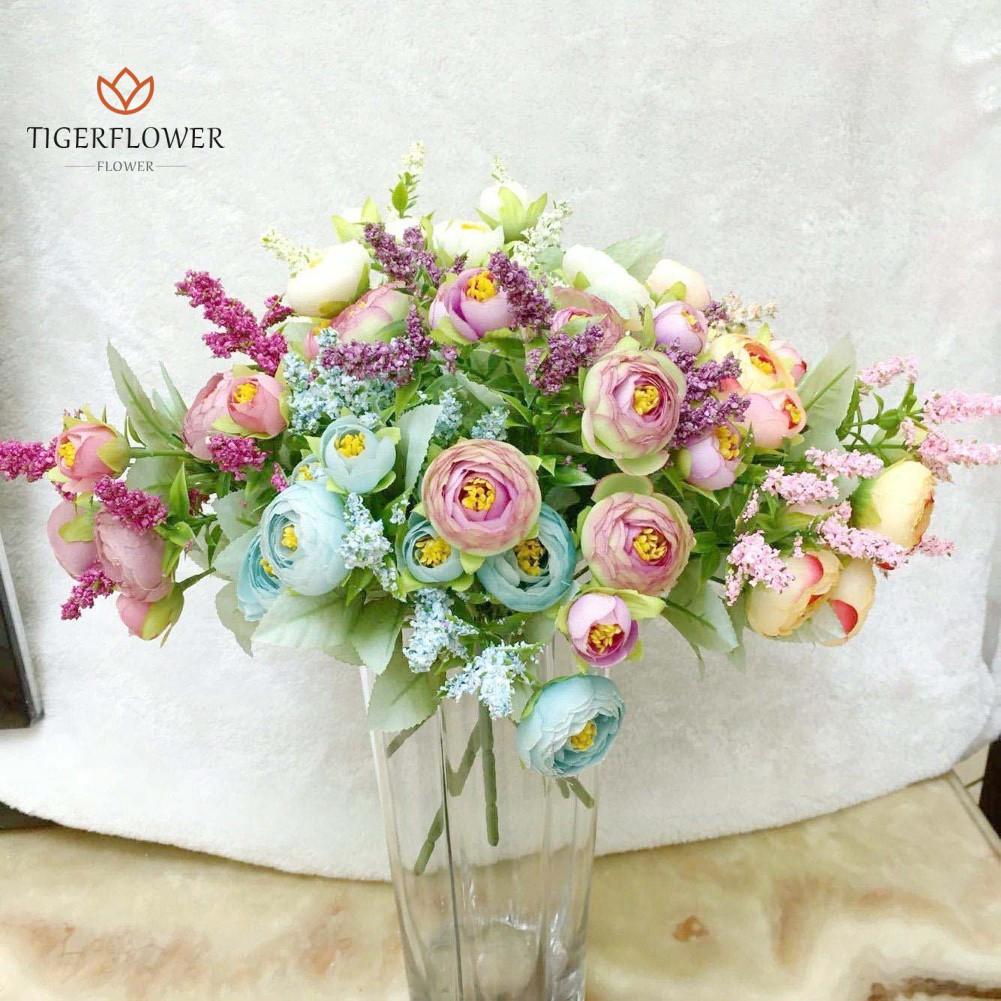pc bunga melati buatan untuk dekorasi taman panggung shopee