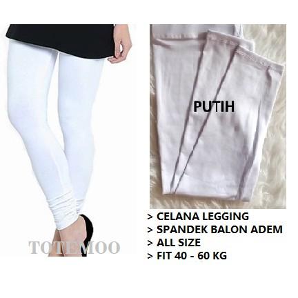Legging Polos Wanita Warna Putih Lejing Polos Putih Celana Legging Putih Shopee Indonesia