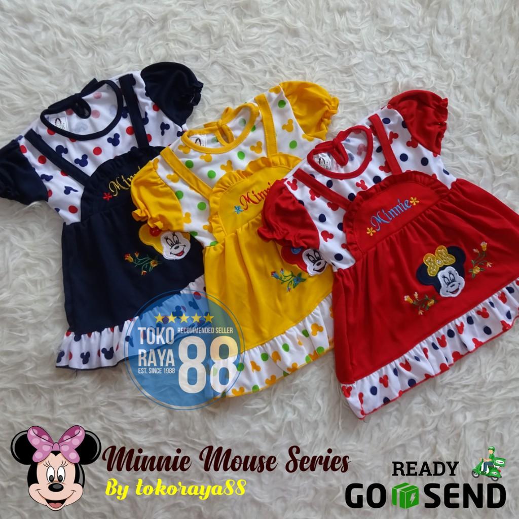 871edda12 Baju Bayi Laki-laki Mickey Mouse Warna Hitam Setelan Bayi Cowo Motif ...