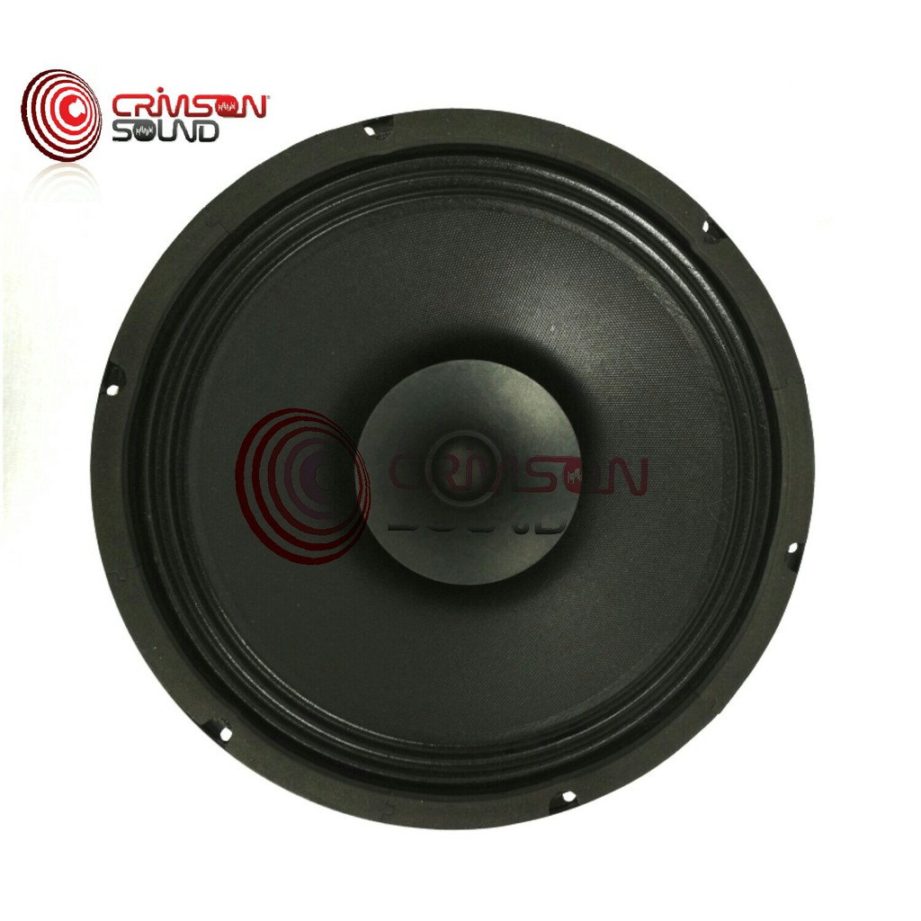 WOOFER FULL RANGE CAN-NON C-1230 PA POLY HI-FIDELITY SPEAKERS