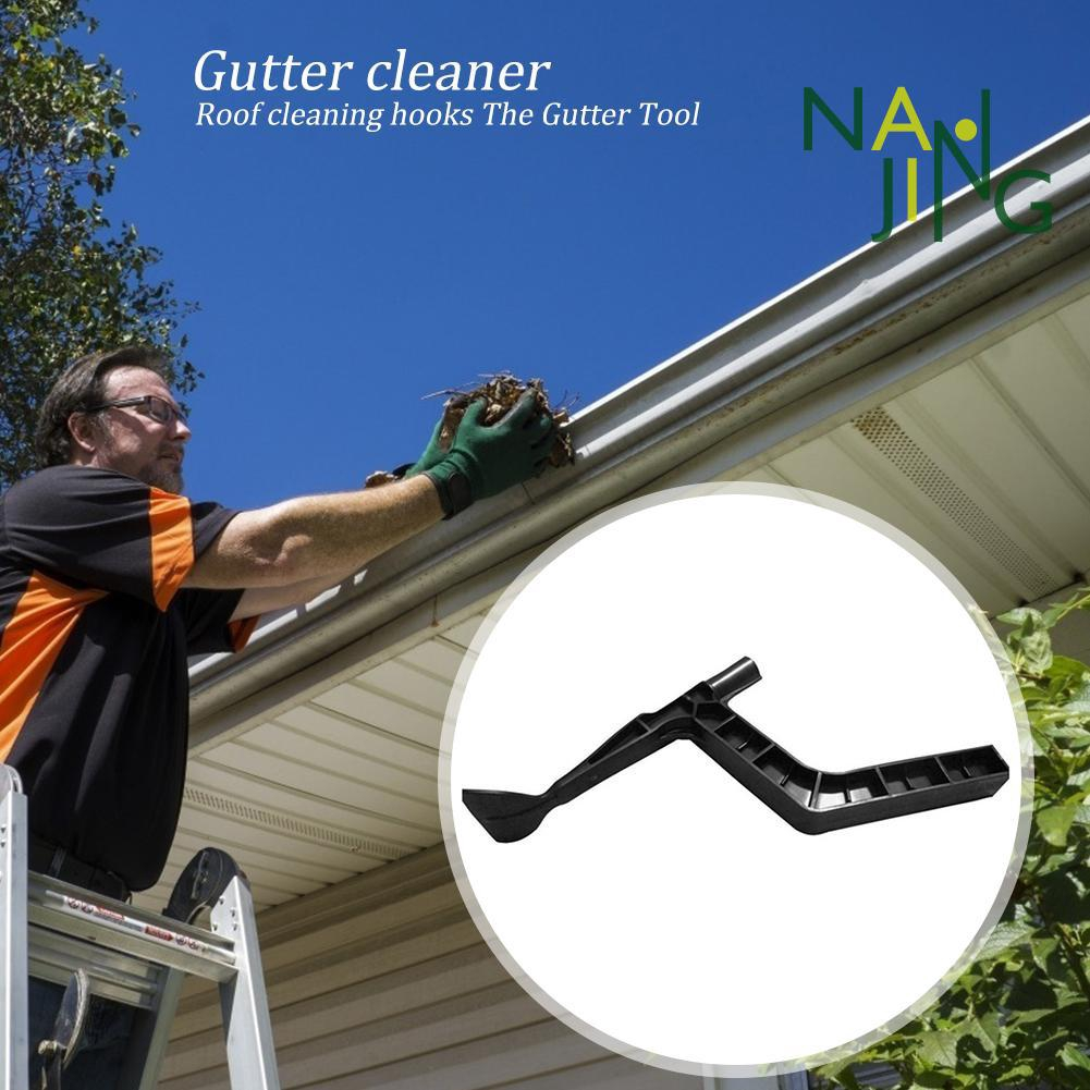 Gutter Cleaner Behind Skylights Roof Portable Cleaning Gutter Tool Scoop Shopee Indonesia